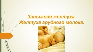 Затяжная желтуха. Желтуха грудного молока. © Шилова Наталия