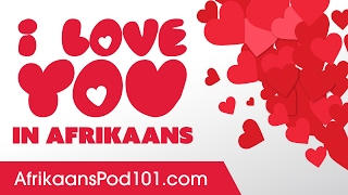 This is the place to jumpstart your afrikaans knowledge about romance, learn how say i love you and more pick-up lines! download free pdf cheat sheet...