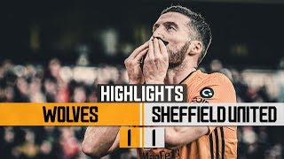 Doherty earns Wolves a point! Wolves 1-1 Sheffield United | Highlights