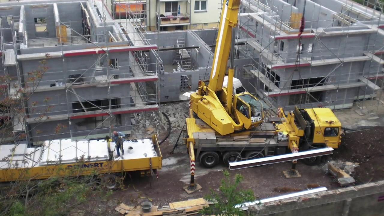 Gut gemocht Neopor Haus von Izodom 2000 mit Fuchs Projekt Bau - YouTube XH76