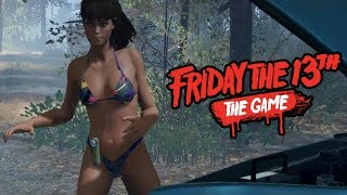 NAKED GIRL HAS REPAIRED THE CAR - Friday The 13th