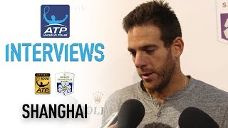 Del Potro Opens Up About Wrist Injury Shanghai 2017