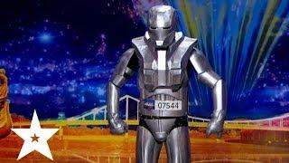 Робот танцует под Майкла Джексона - Україна має талант-6 - Кастинг в Днепропетровске(Робот танцует под Майкла Джексона на кастинге