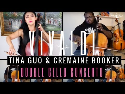 Tina Guo & Cremaine Booker: Vivaldi Double Cello Concerto