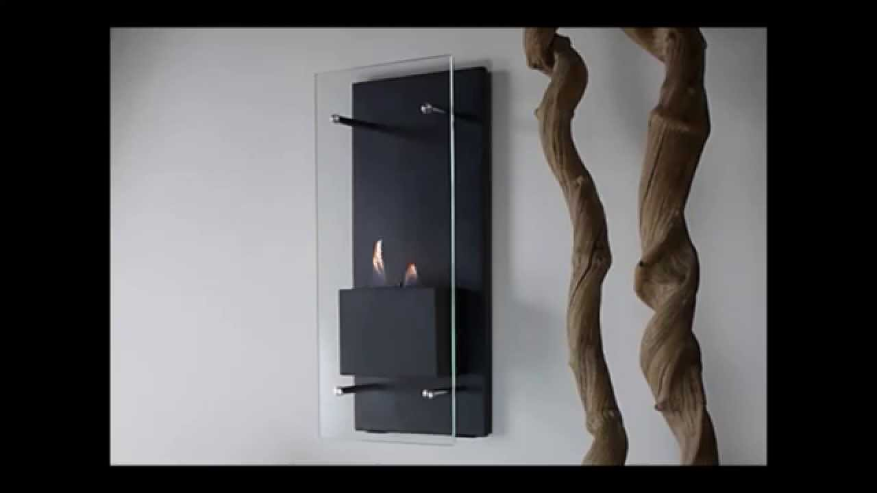 nu flame cannello ethanol wall torch fireplace youtube