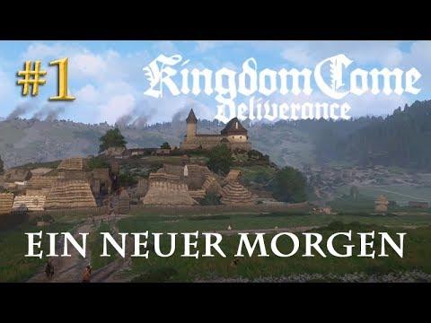 Let's Play Kingdom Come Deliverance #1: Ein neuer Morgen (Tag 1 / Blind / deutsch)