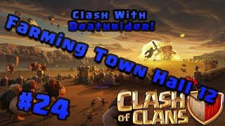 Lets Play Clash of Clans: 24 - Day In the Life of a Farming Town Hall 12