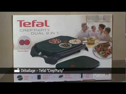 crepiere-tefal-crep'party-dual-2-en-1-déballage-par-inspiration-cuisine