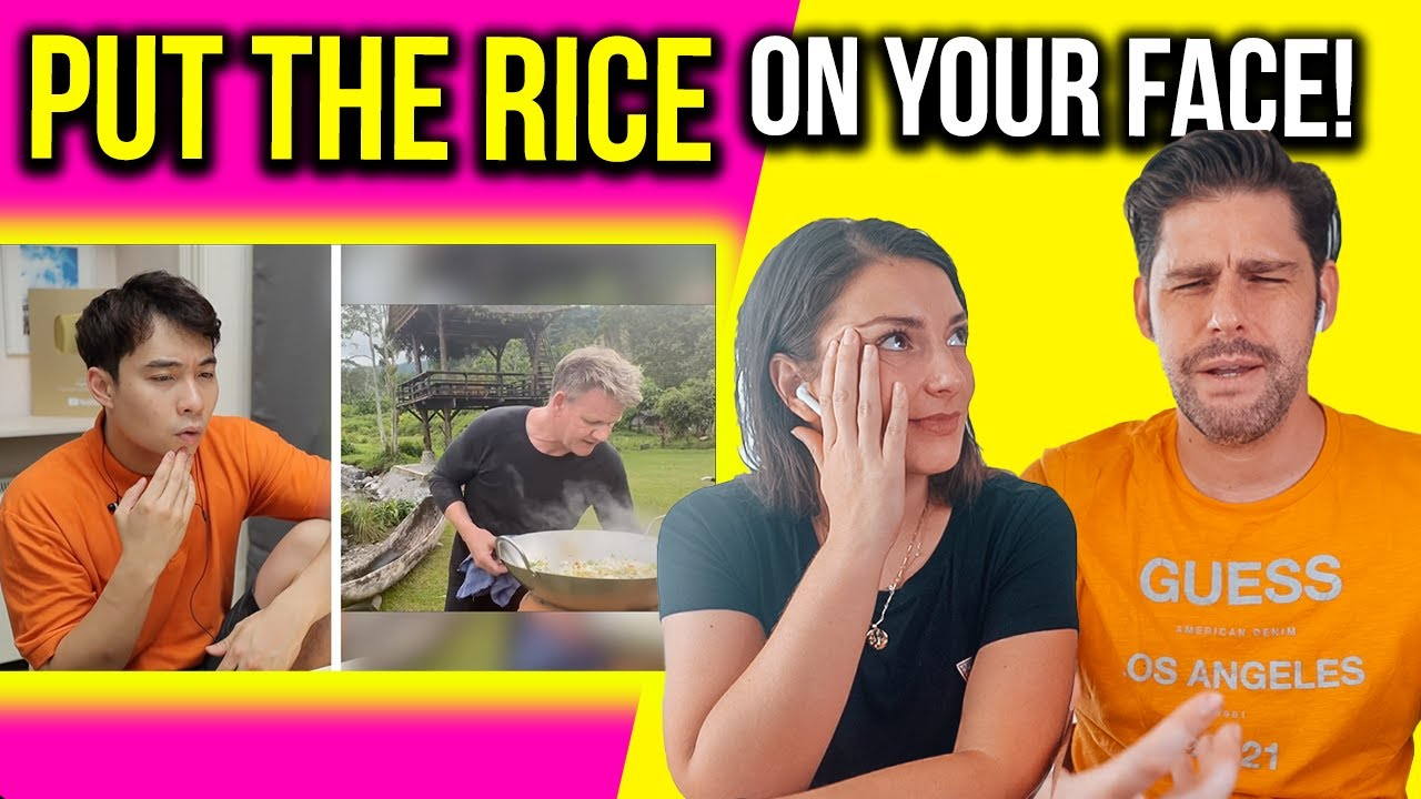 UNCLE ROGER Reviews GORDON RAMSAY Fried Rice - FOREIGNERS Reaction