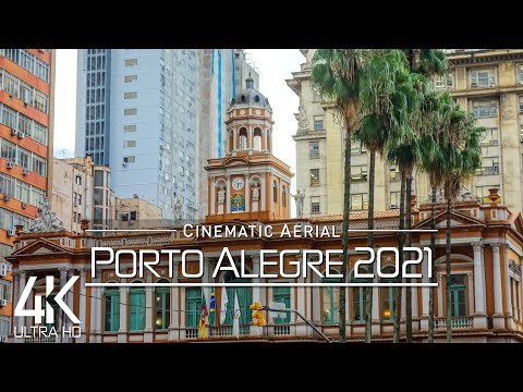 【4K】🇧🇷 Porto Alegre from Above 🔥 RS, BRAZIL 2021 🔥 Cinematic Wolf Aerial™ Drone Film