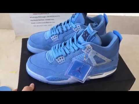 the best attitude 2f842 86855 Legit Check:Air Jordan 4 Retro UNC Sky Blue from sneakersnet.ru