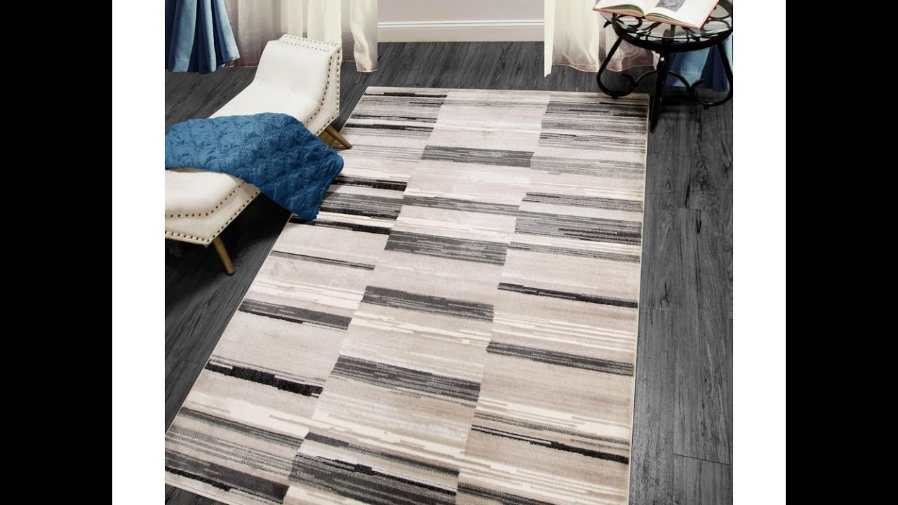 Home Dynamix Bazaar City Stripes Gray 7 10 X 2 Indoor Area Rug Seeds Review