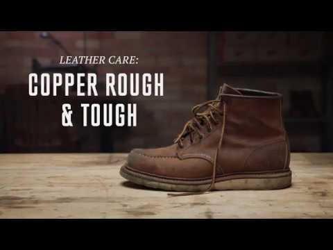 Red Wing Heritage Copper Rough Amp Tough Leather Care Non