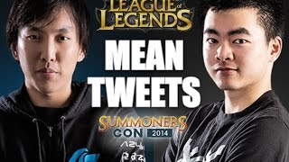 Reading Mean Tweets - League of Legends Edition