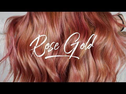 Rose Gold || Hair Tutorial