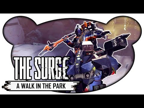 The Surge A Walk in the Park #05  Chief Helvig Lets Play Deutsch Gameplay Bruugar