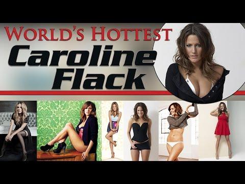 Caroline flack 39 s cleavage doovi for Helen chamberlain tattoo