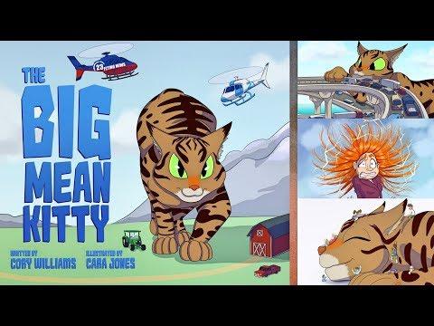 The BIG Mean Kitty - Children's Book [Kickstarter Campaign]