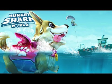 THE PUPPERS IS HERE!?! - Hungry Shark World | Ep 70 HD