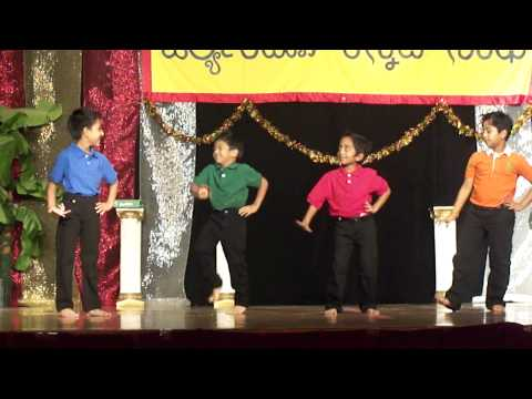 Kids dance for
