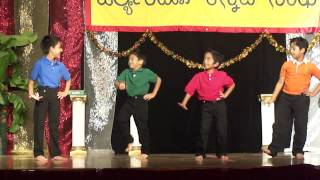 "Kids dance for ""Hello Hello Hello - song from Bachan kannada movie"""