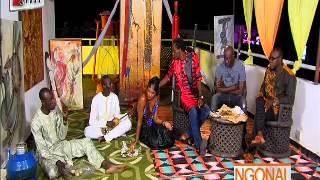 Ngonal reçoit le chanteur Abdou Guité Seck - 11 Octobre 2013
