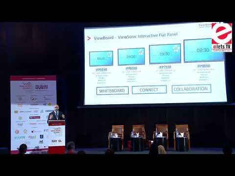 WES 2017, Dubai - Ali Abdallah, Regional Manager, MEA, ViewSonic International Corporation