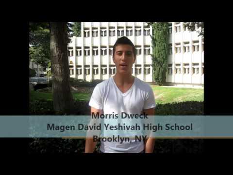 Interviews 5774 Morris Dweck Magen David Yeshivah High School ...