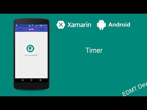 Xamarin Android Tutorial - Timer