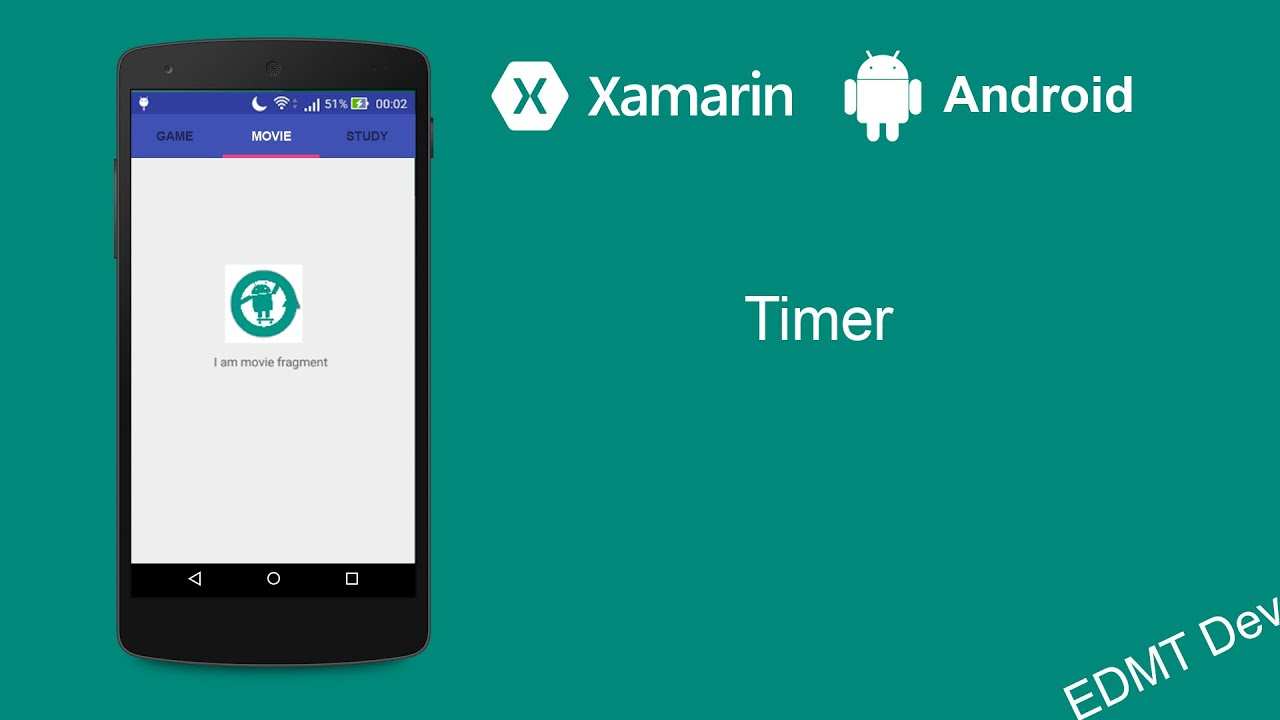 Xamarin Android Tutorial - Timer