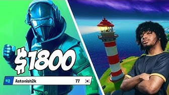 HOW I PLACED 2ND IN FORTNITE PLATFORM CUP($1800)