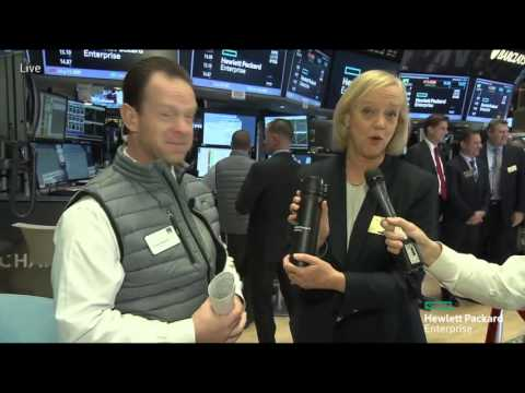 Hewlett Packard Enterprise joins the NYSE