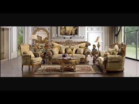 Wooden sofa set.  Sofa designs ideas