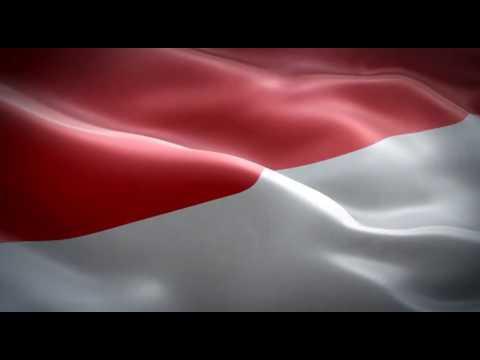 Stock Video Bendera Indonesia Free