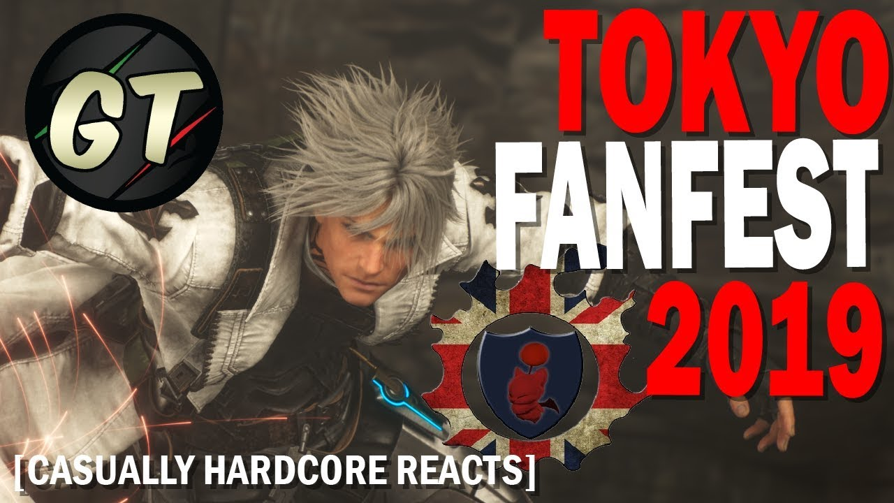 FFXIV Tokyo FanFest 2019 (English) Live Reaction with Gather