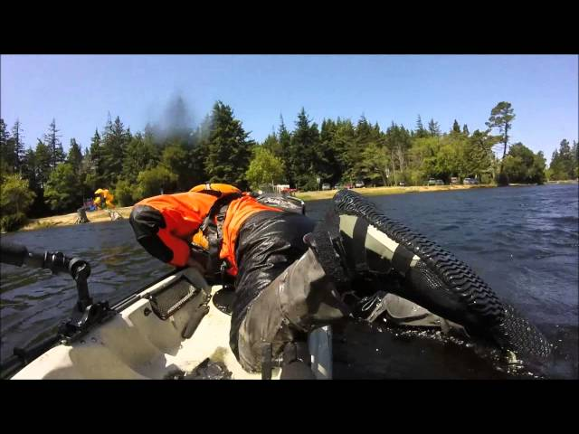Self Rescue on a Hobie Revolution 16