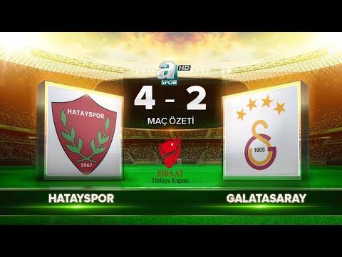 Hatayspor 4-2 Galatasaray | Maç Özeti HD