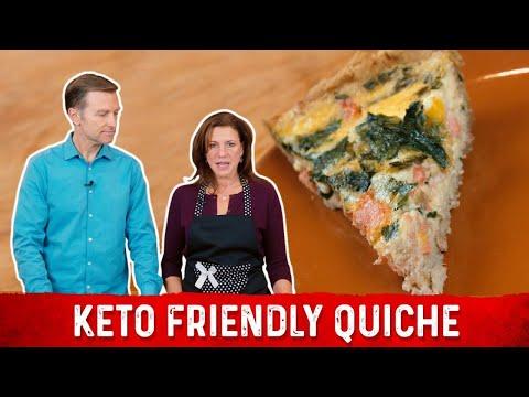 How to Make Quiche Keto Friendly Recipe   Karen and Eric Berg