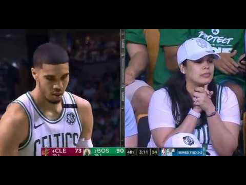 Cleveland Cavaliers vs Boston Celtics Eastern Conference Finals 2018 GAME 5 - 4th Quarter