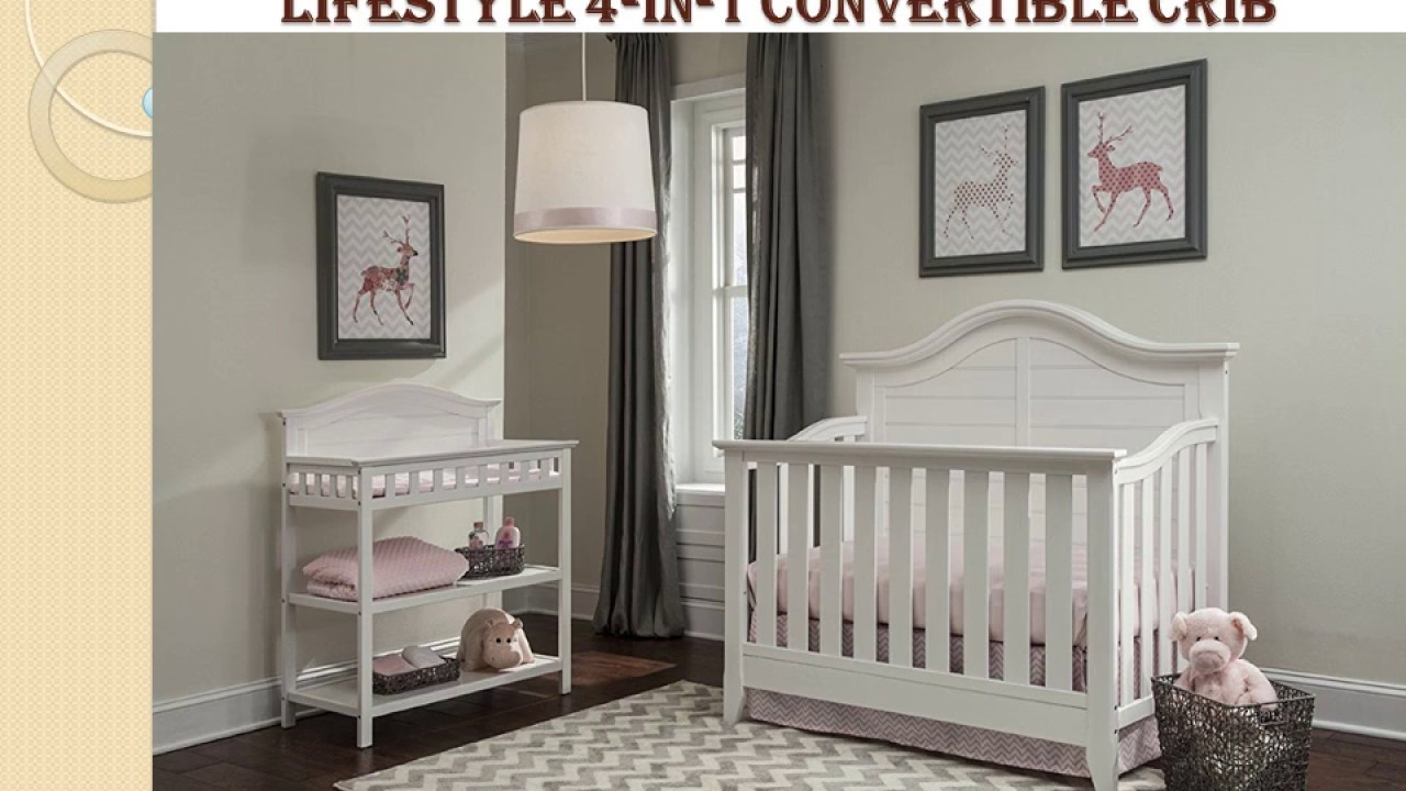 thomasville southern dunes crib 4 in 1 convertible white guide