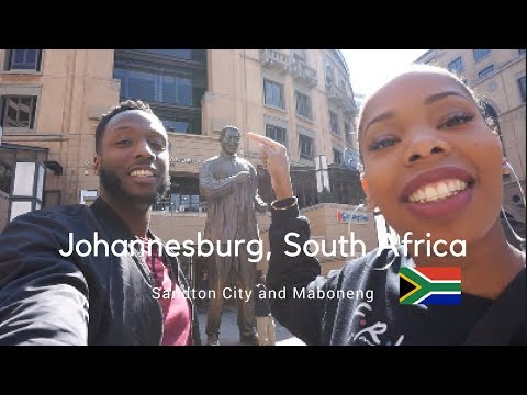A Haitian and a Jamaican in South Africa: Sandton City and Maboneng