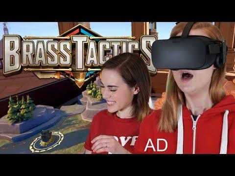 Brass Tactics with Oculus Rift!