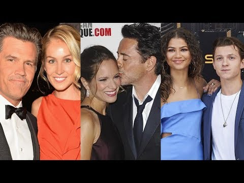 Avengers: Infinity War ... and their real life partners