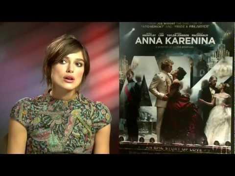 Anna Karenina Keira Knightley interview