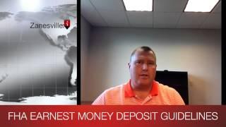 OHIO FHA: Earnest Money Deposit Guidelines
