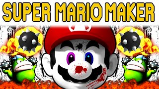 Super Mario Maker | SUPER EXPERT SUPER RAGE SUPERMAN THIS SUCKS