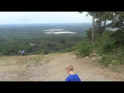 Blue Hills Hike Canton Massachusetts Top of the Ski Slope