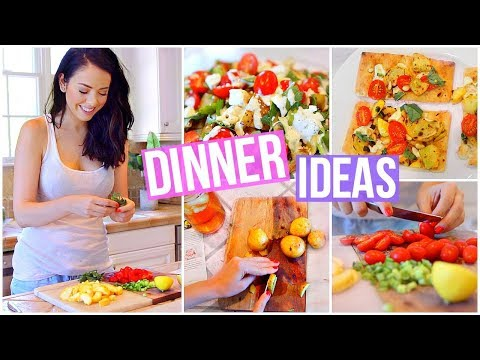 Download Youtube: 3 EASY & HEALTHY VEGETARIAN DINNER IDEAS!