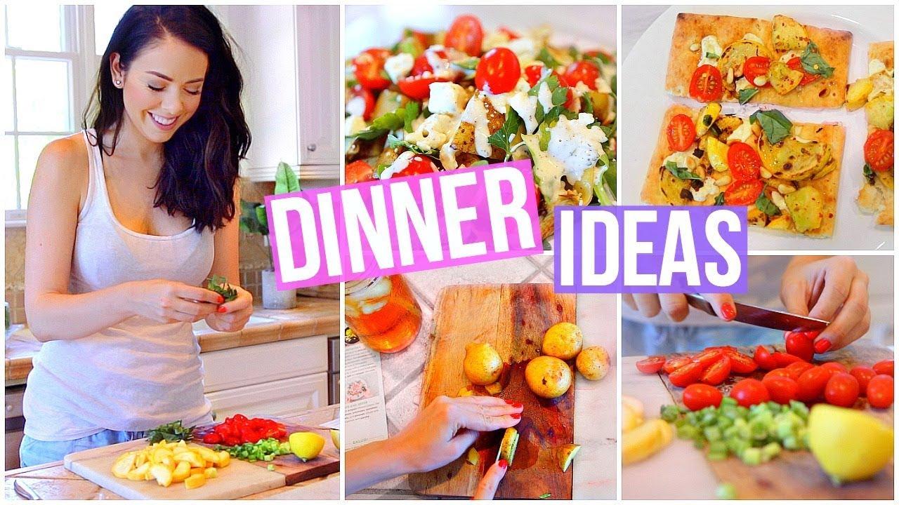 3 easy healthy vegetarian dinner ideas youtube 3 easy healthy vegetarian dinner ideas forumfinder Images
