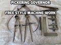 Steam Powered Machine Shop  52  Free Style Machine Work, Pickering Governor